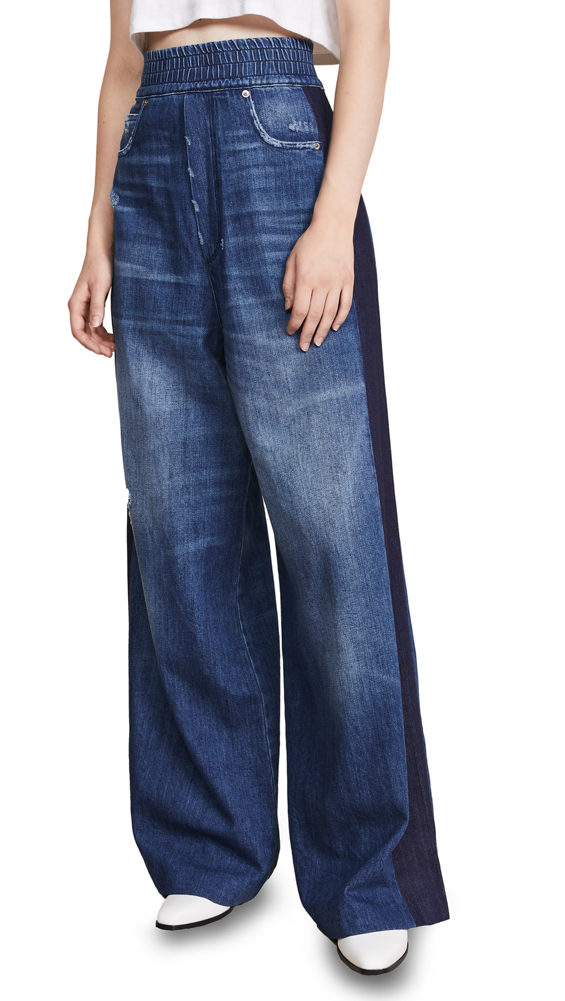 Golden Goose Sophie pants In Blue Wash