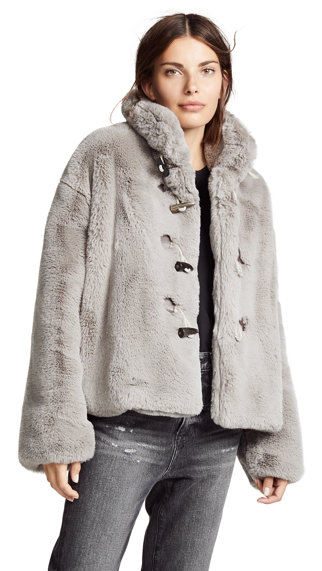 Golden Goose Shedir Jacket In Taupe