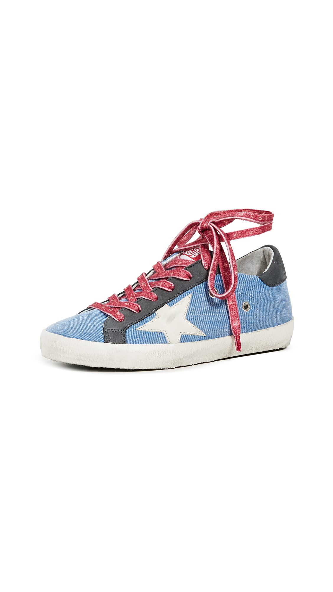 Golden Goose Superstar Sneakers - Chambray