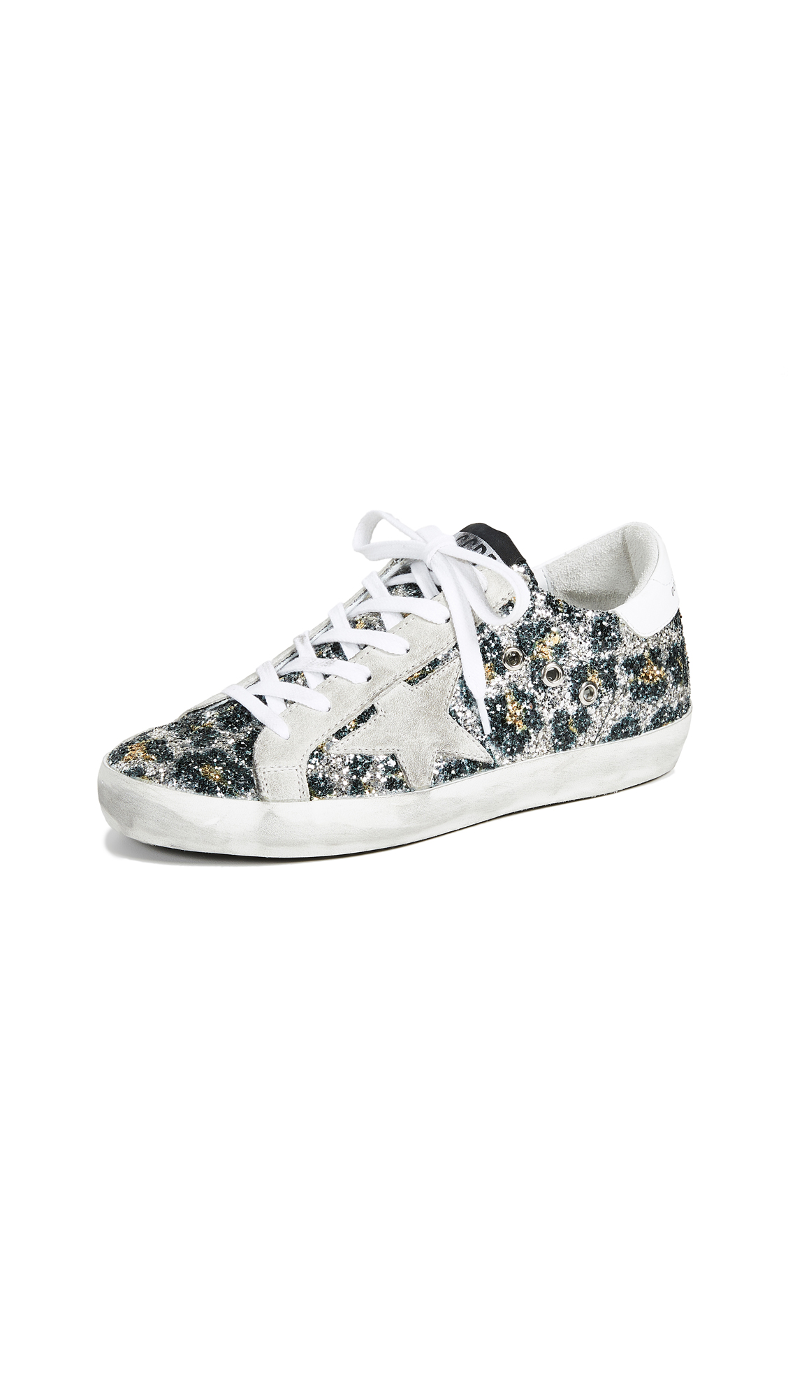 Golden Goose Superstar Sneakers - Leopard/Ice