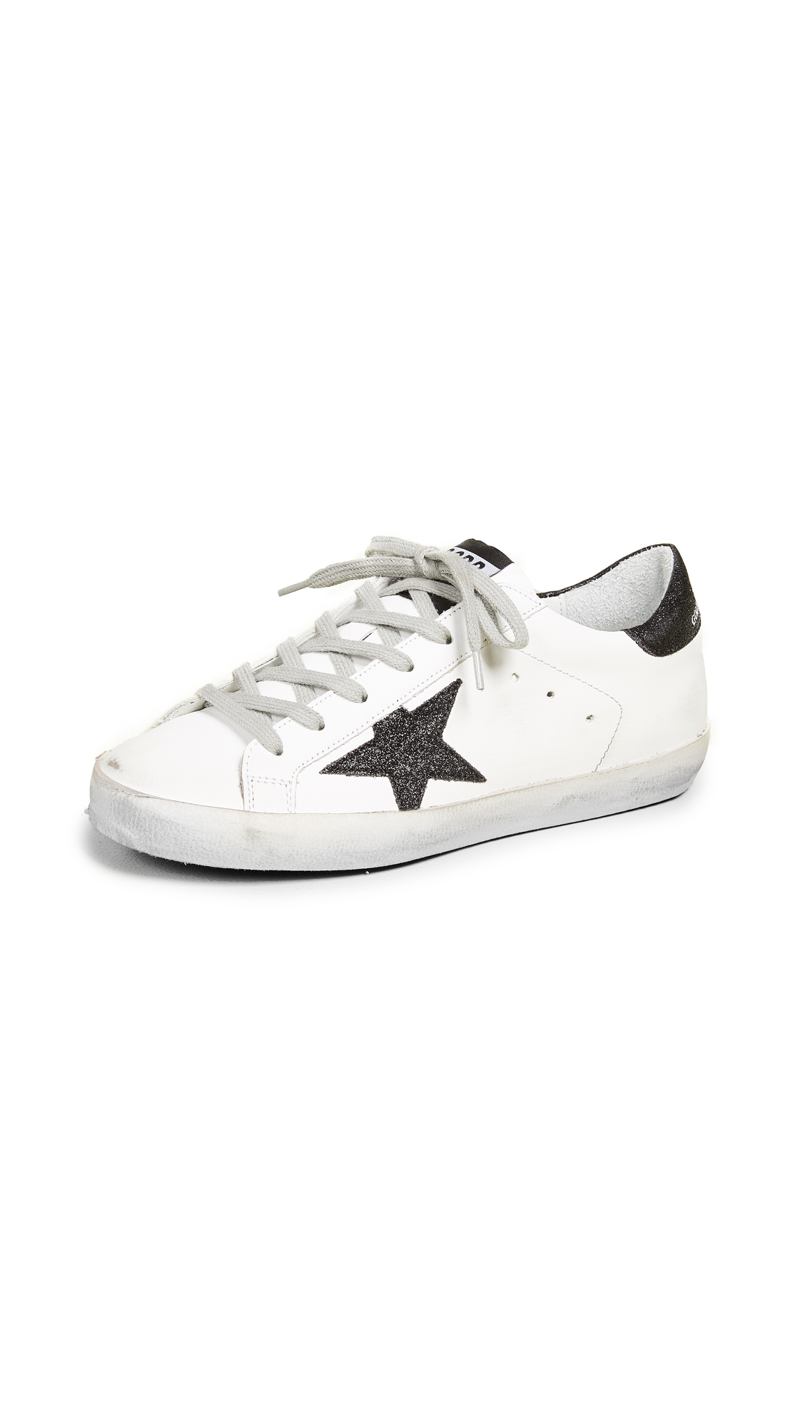 Golden Goose Superstar Sneakers - White/Black
