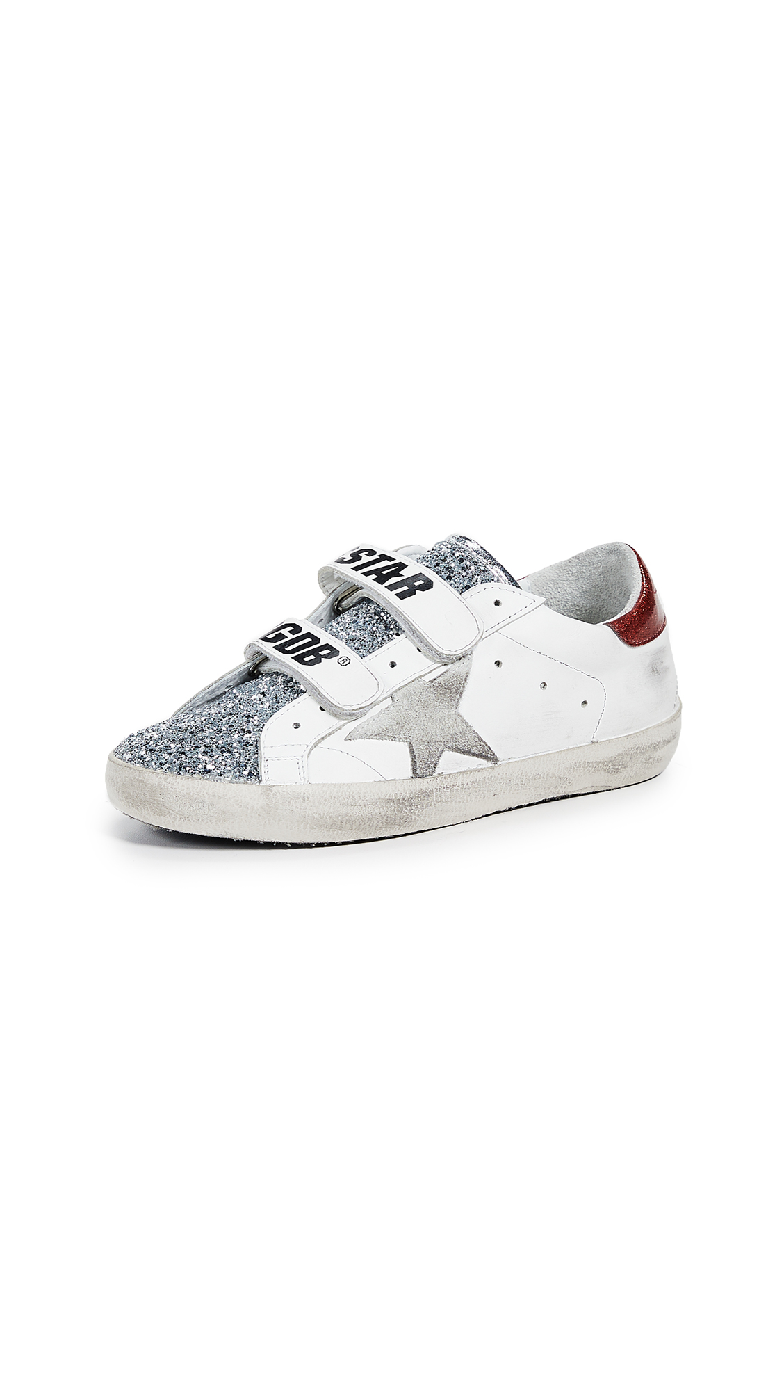 Golden Goose Superstar Old School Sneakers - White/Ice