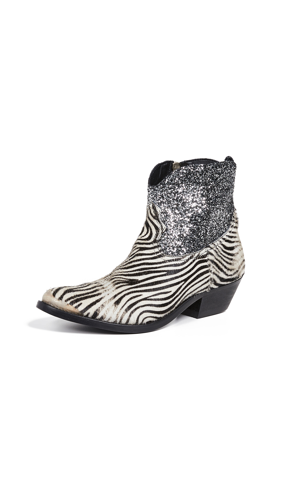 Golden Goose Young Boots - Mini Zebra