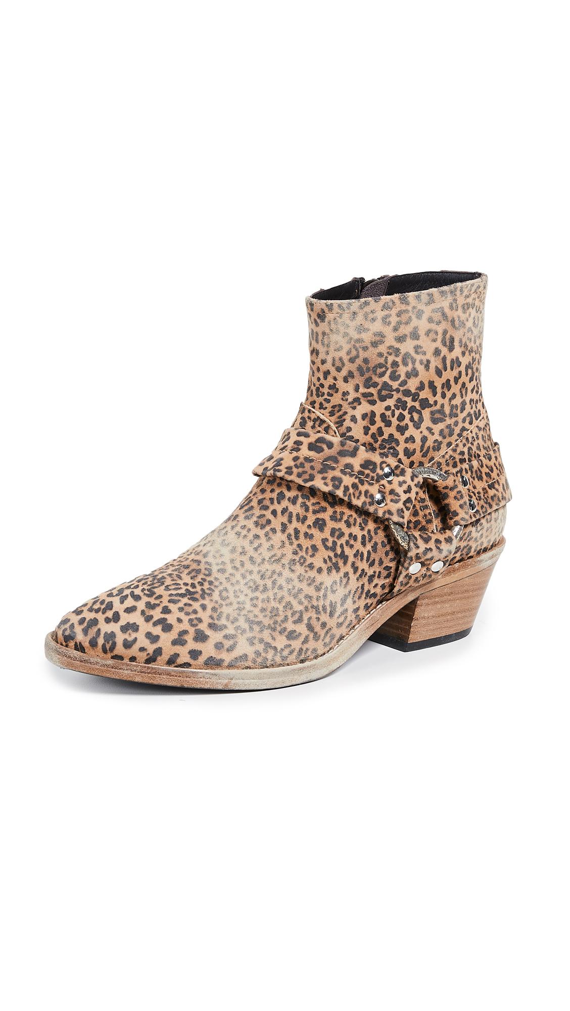 Golden Goose Bretagne Boots - Leopard