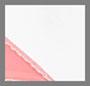 白色/冰蓝/粉色 PVC