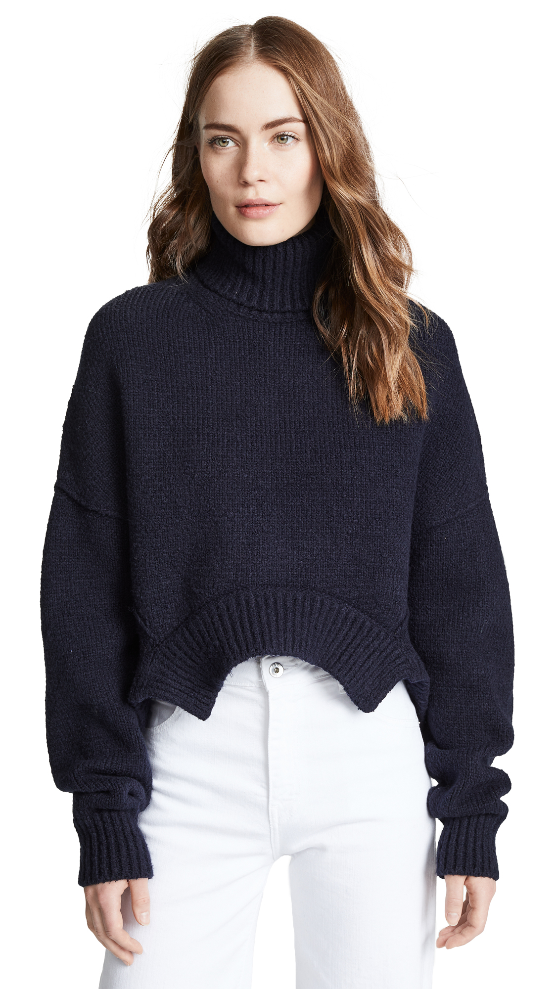 Golden Goose High Neck Amber Sweater - Navy