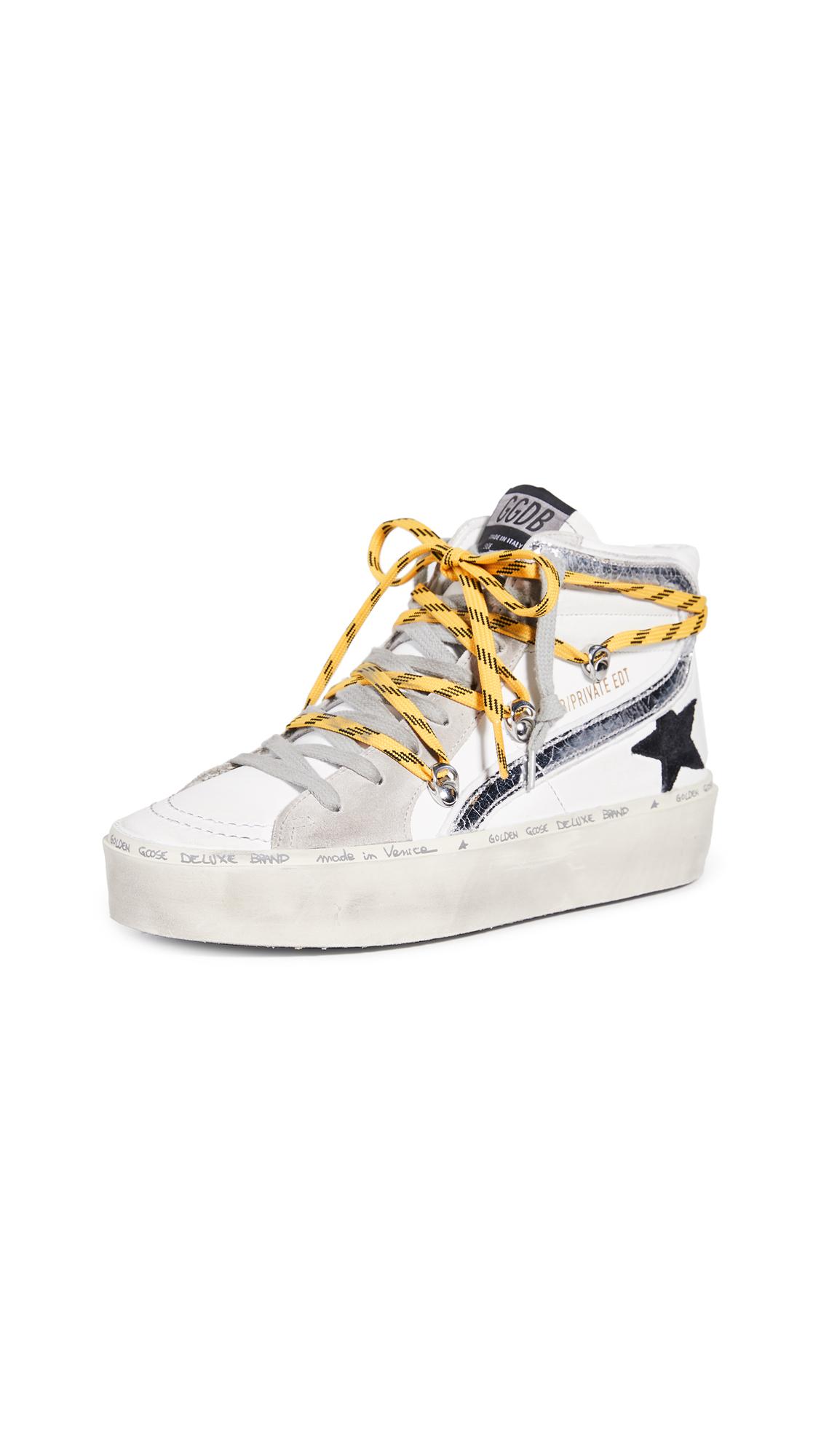 Buy Golden Goose Hi Slide Sneakers online, shop Golden Goose