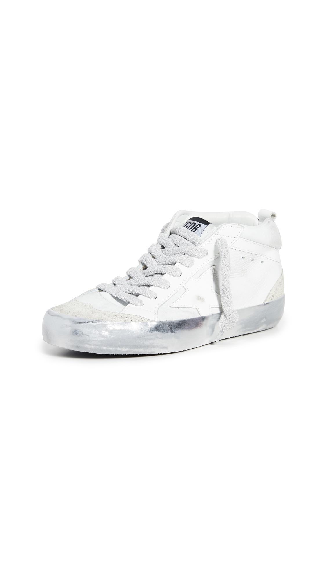 Buy Golden Goose Mid Star Sneakers online, shop Golden Goose