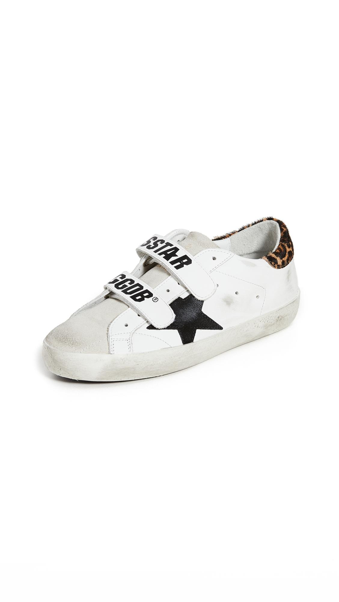 Buy Golden Goose Old School Sneakers online, shop Golden Goose