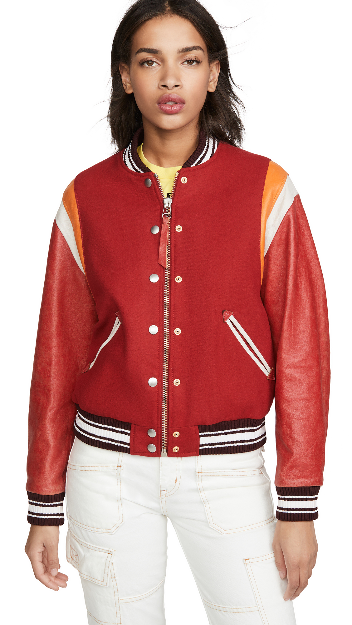 Buy Golden Goose Scarlett Bomber Jacket online beautiful Golden Goose Clothing, Jackets