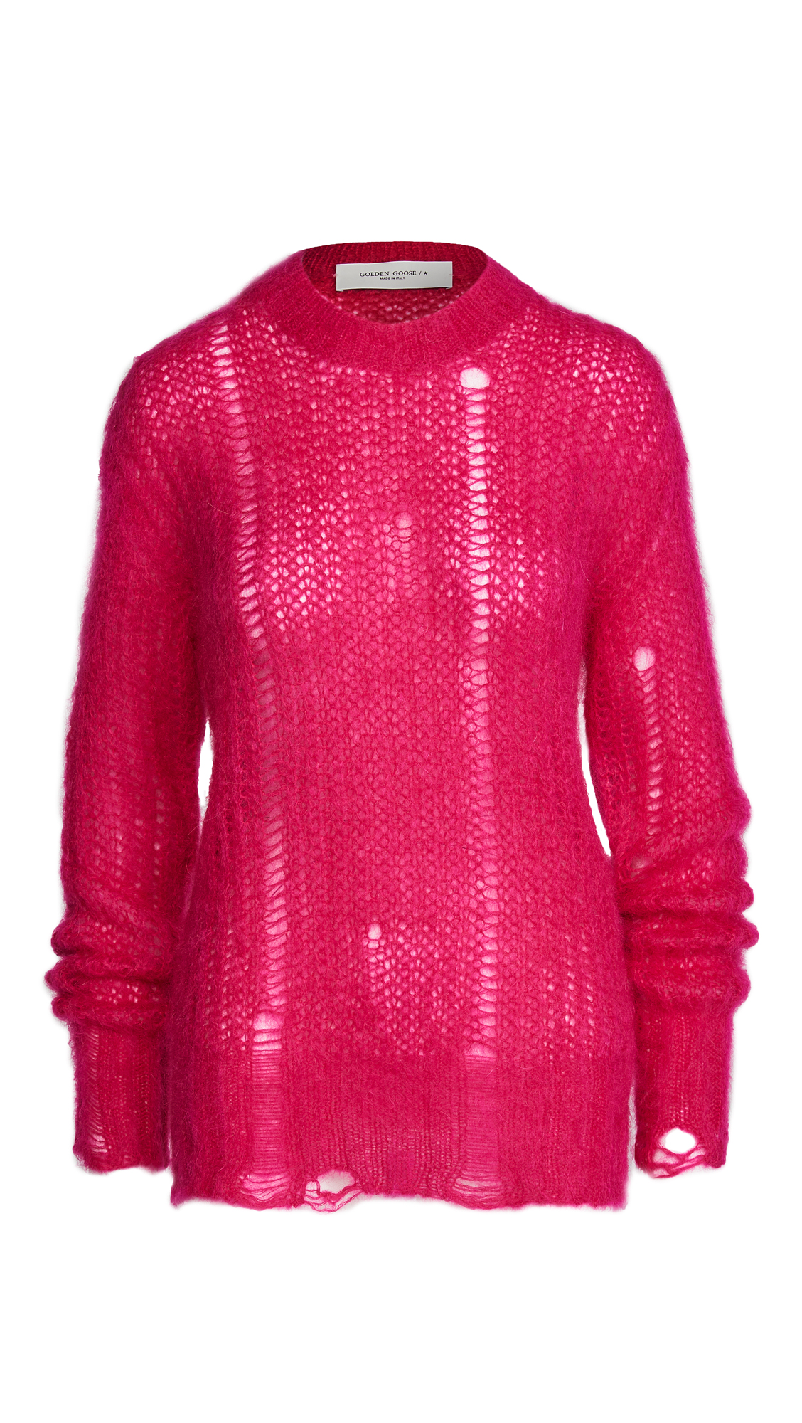 Golden Goose Clothing ROUND NECK MOHAIR SWEATER