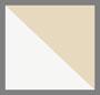 White/Cappuccino/Brown/Silver