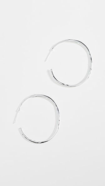 Gorjana Arc Large Hoop Earrings
