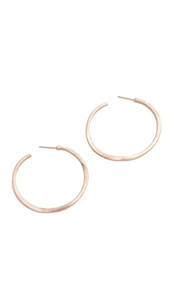 Gorjana Arc Hoop Earrings