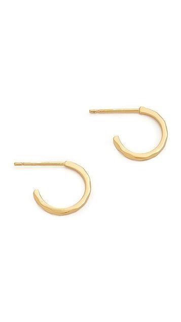Gorjana Taner Bar Mini Hoop Earrings