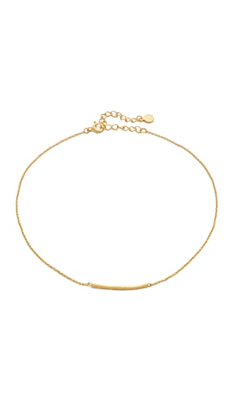 Gorjana Taner Bar Choker Necklace - Gold