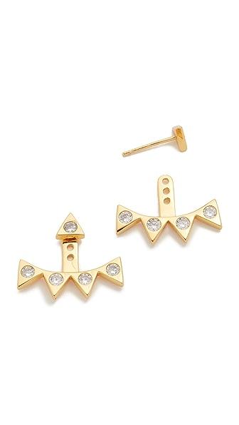 Gorjana Mika Shimmer Statement Earrings