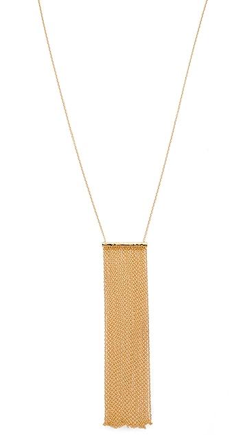 Gorjana Twiggy Fringe Necklace