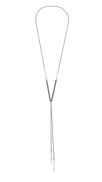 Gorjana Power Gemstone Necklace