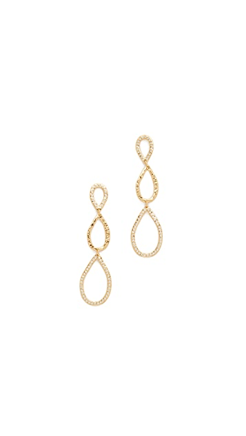 Gorjana Nora Shimmer Teardrop Earrings