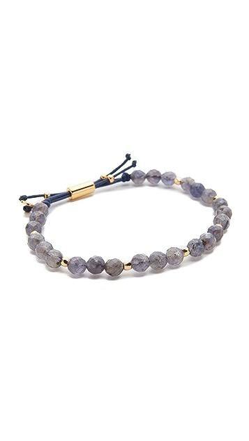 Gorjana Power Iolite Bracelet for Focus