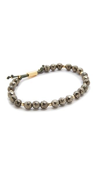 Gorjana Power Pyrite Bracelet for Strength