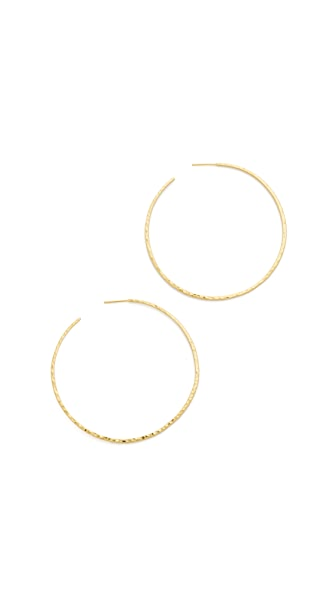 Gorjana Taner XL Hoop Earrings - Gold