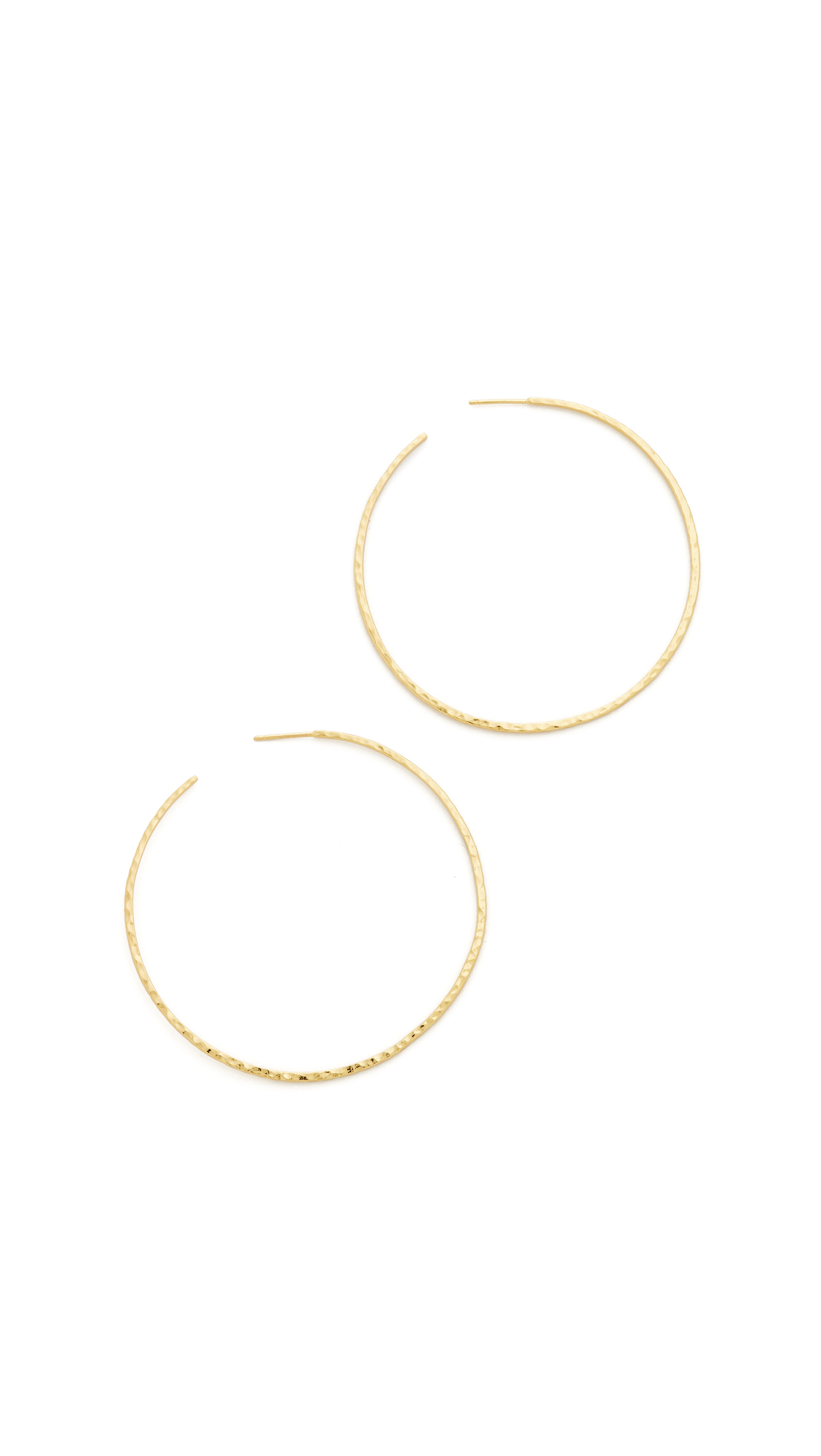 Gorjana Taner XL Hoop Earrings - Gold