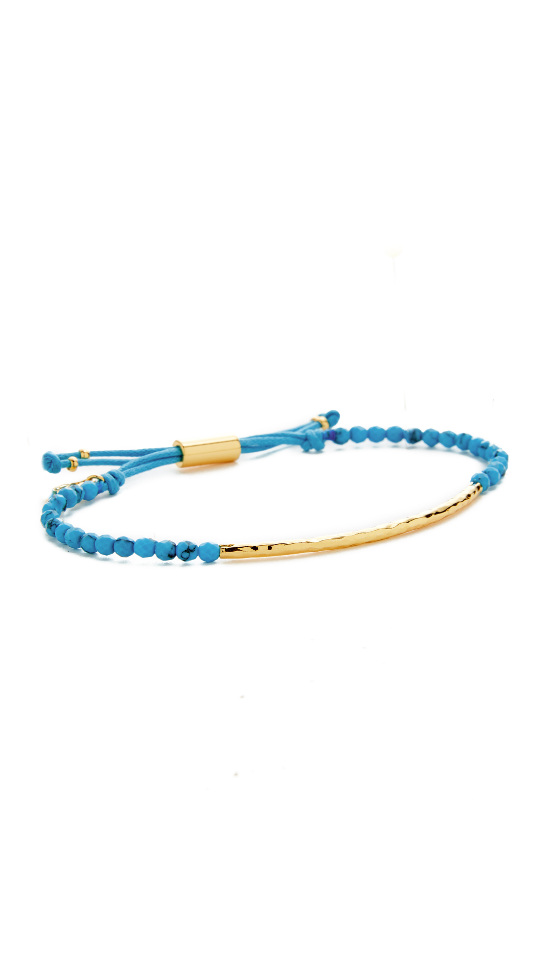 Gorjana Power Bracelet for Healing - Turquoise/Gold