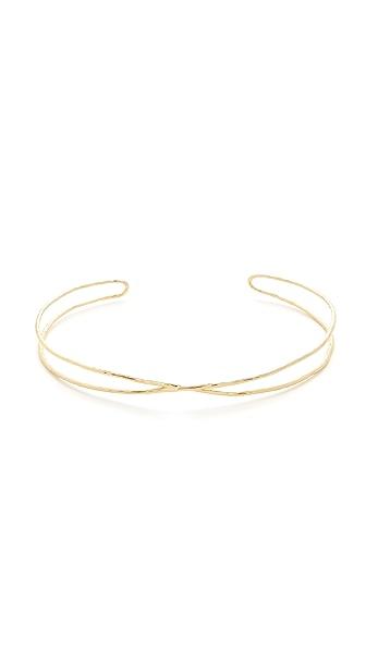 Gorjana Elea Collar Necklace In Gold