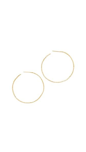 Gorjana Harbour Hoop Earrings - Gold