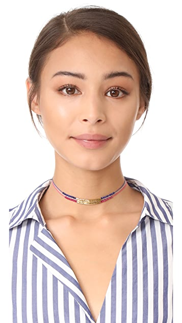 Gorjana Power Gemstone Choker Necklace