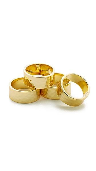 Gorjana Evie Statement Ring Set