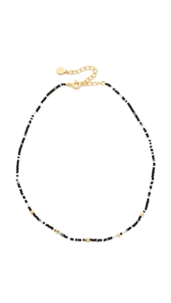 Gorjana Marlow Beaded Choker Necklace