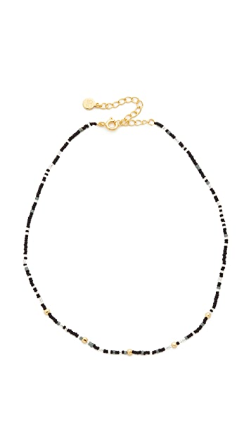 Gorjana Marlow Beaded Choker Necklace