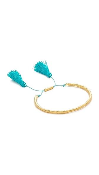 Gorjana Tulum Bracelet - Teal/Gold