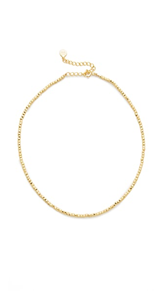 Gorjana Playa Beaded Choker Necklace - Gold