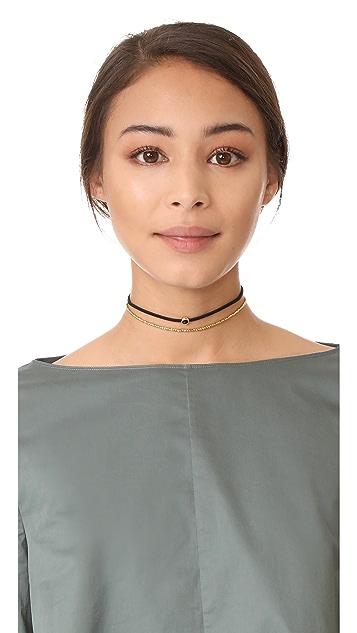 Gorjana Playa Beaded Choker Necklace