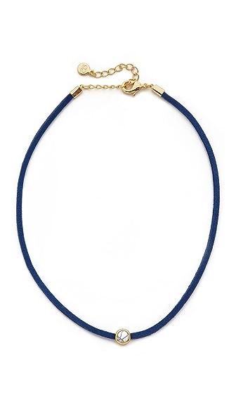 Gorjana Fairfax Gemstone Choker Necklace