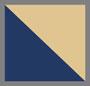 Howlite/Navy/Gold