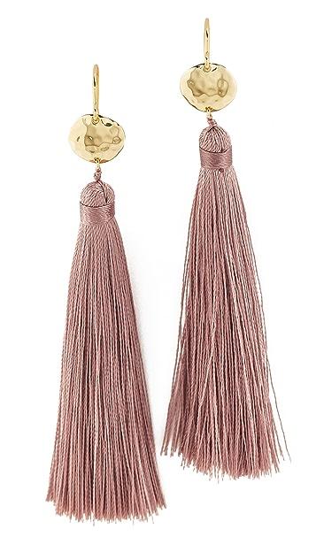 Gorjana Leucadia Tassel Earrings
