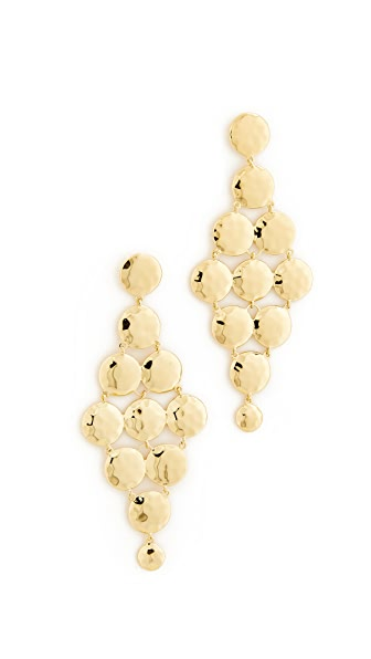 Gorjana Gypset Tiered Earrings - Gold