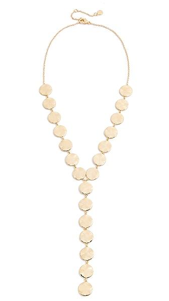 Gorjana Chloe Lariat Necklace In Gold