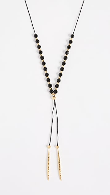 Gorjana Power Onyx Necklace for Protection