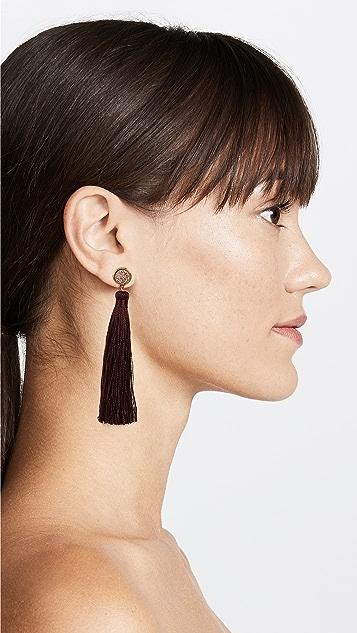 Gorjana Astoria Tassel Earrings