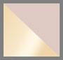 розовый кварц/золото