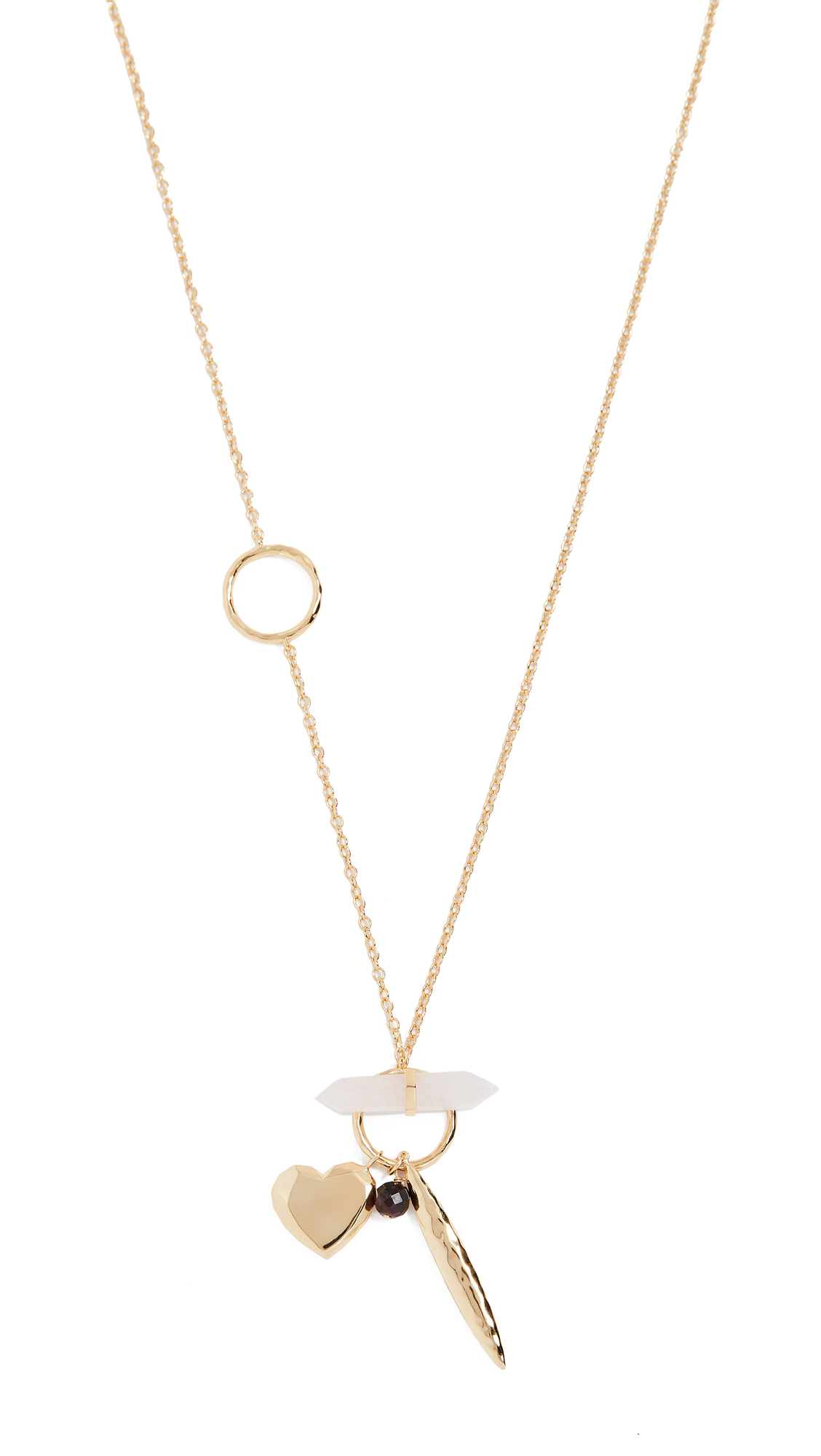Gorjana Wanderlust Toggle Charm Necklace PRLtqllKBw