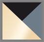 Snowflake Obsidian/Gold