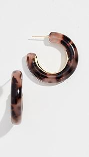 Gorjana Irina Statement Hoop Earrings