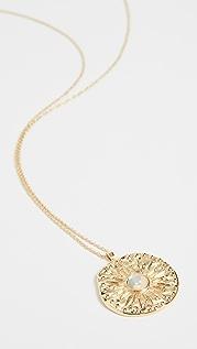 Gorjana Maya 硬币式项链